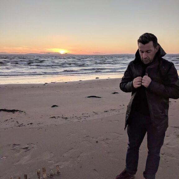 Greg on the beach